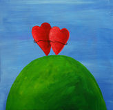 сердца 2 Стоковые Фото