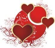 сердца 3 Стоковая Фотография