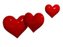 сердца Стоковые Фотографии RF