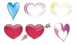 сердца 6 Стоковые Фото