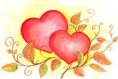 сердца Стоковое Изображение