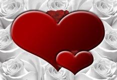сердца b Стоковое Изображение