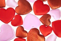 Сердца background-1 Стоковое Изображение
