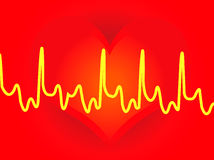 сердца backround иллюстрация вектора