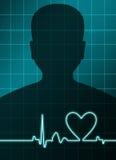 сердце анализа Стоковое Изображение