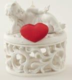 сердце ангела Стоковые Фотографии RF