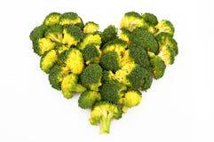 сердце брокколи стоковые изображения rf