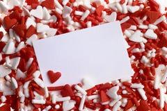 сердце брызгает Валентайн Стоковое Фото