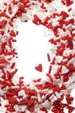 сердце брызгает Валентайн Стоковые Фотографии RF