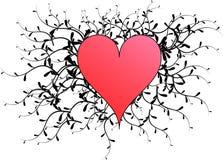 Сердце вектора Стоковая Фотография RF