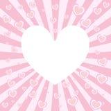 сердце взрыва Стоковая Фотография RF