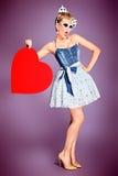 Сердце влюбленности Стоковые Изображения RF