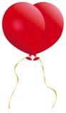 Сердце воздушного шара Стоковое фото RF