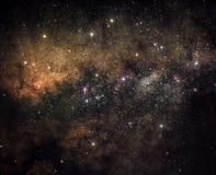 сердце галактики стоковое изображение rf
