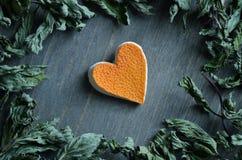 Сердце грейпфрута Стоковые Изображения RF