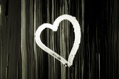 сердце грязное Стоковое Изображение RF