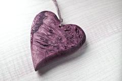 сердце деревянное Стоковая Фотография RF