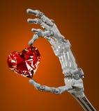 Сердце диаманта Стоковые Изображения