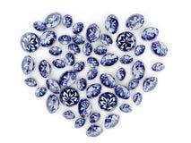 сердце диаманта Стоковые Фотографии RF