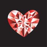 сердце диаманта Стоковая Фотография