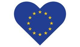 Сердце Европейского союза Стоковая Фотография RF