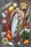 сердце еды здоровое Стоковые Изображения RF