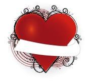 сердце знамени Стоковое фото RF