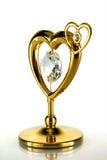 сердце золота стоковое фото