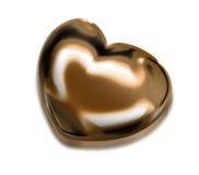 сердце золота иллюстрация вектора