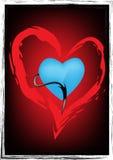Сердце искусства Стоковые Фотографии RF