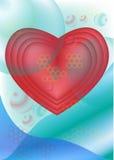 Сердце искусства Стоковые Изображения