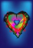 Сердце искусства Стоковая Фотография