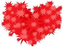 сердце кактуса Стоковое Изображение