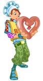сердце кашевара Стоковое фото RF