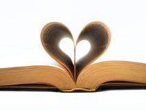 сердце книги Стоковая Фотография RF