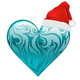 сердце конструкции рождества Стоковые Изображения