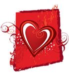 сердце конструкции Стоковое фото RF