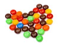 сердце конфет цветастое Стоковая Фотография
