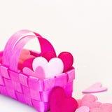 сердце корзины стоковое изображение
