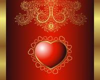сердце королевское Стоковое Фото