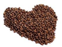 сердце кофе сделало Стоковое фото RF
