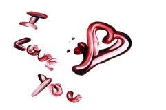 сердце крови Стоковое Изображение RF