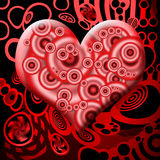 сердце крови Стоковая Фотография