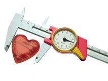 сердце крумциркуля Стоковая Фотография RF