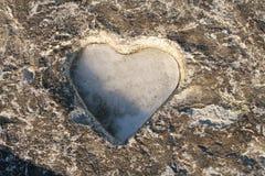 сердце ледистое Стоковое Фото