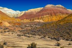 Сердце массива горы в национальном природном парке Altyn Emel kazakhstan Стоковое Фото