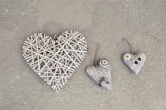 сердце 3 на floor& x28; Valentine& x27; day& x29 s; стоковая фотография rf
