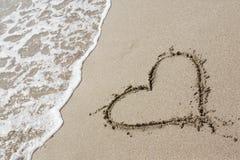 сердце одно чертежа Стоковое Фото