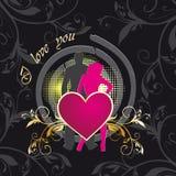 сердце одно 2 Стоковые Изображения RF