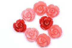 Сердце от красных rozes Стоковые Изображения